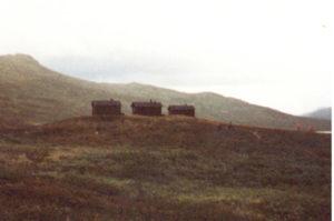 Im Sarek 1983. Auf dem Padjelantaweg.